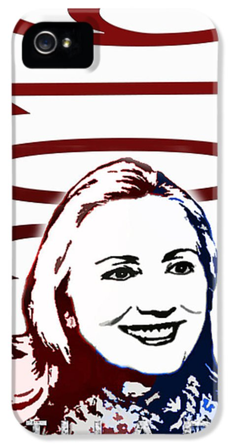 Hillary IPhone 5 / 5s Case featuring the photograph Hillary 2016 by Jost Houk