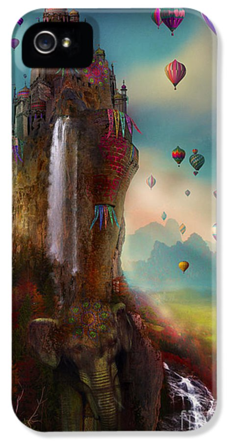 Hot Air Balloons IPhone 5 / 5s Case featuring the photograph Hinchangtor by Aimee Stewart