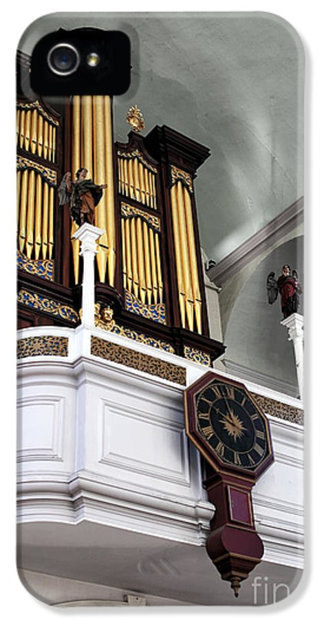 Historic Organ IPhone 5 / 5s Case featuring the photograph Historic Organ by John Rizzuto