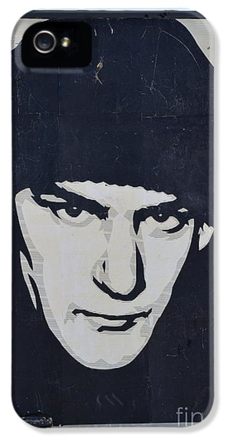 Shepard Fairey IPhone 5 / 5s Case featuring the photograph Ian Mackaye by Allen Beatty