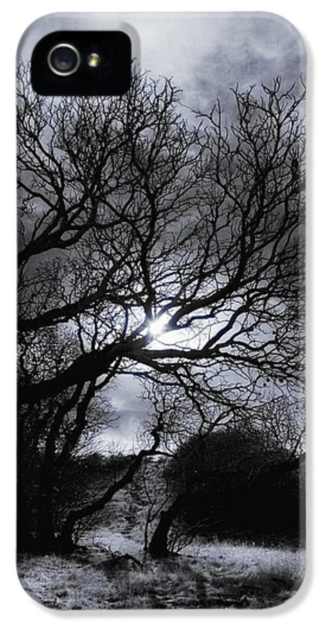 Legend IPhone 5 / 5s Case featuring the photograph Ichabod's Pathway by Donna Blackhall