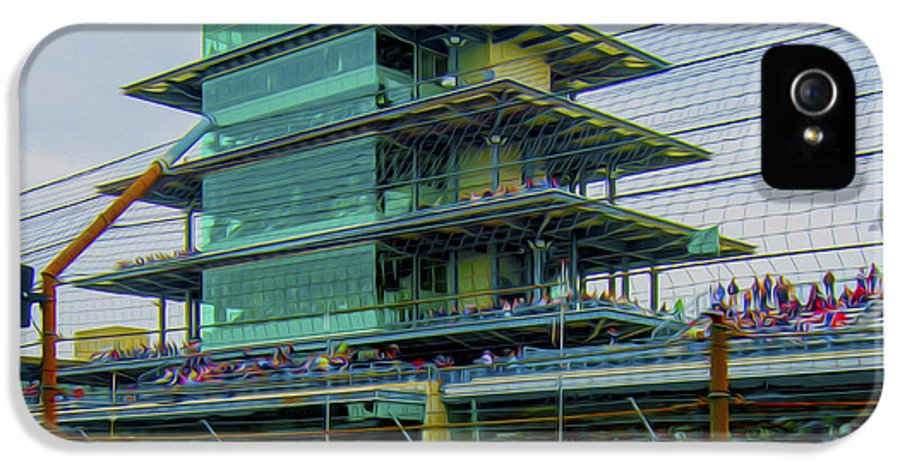 Indy 500 IPhone 5 / 5s Case featuring the photograph Indianapolis 500 May 2013 Square by David Haskett
