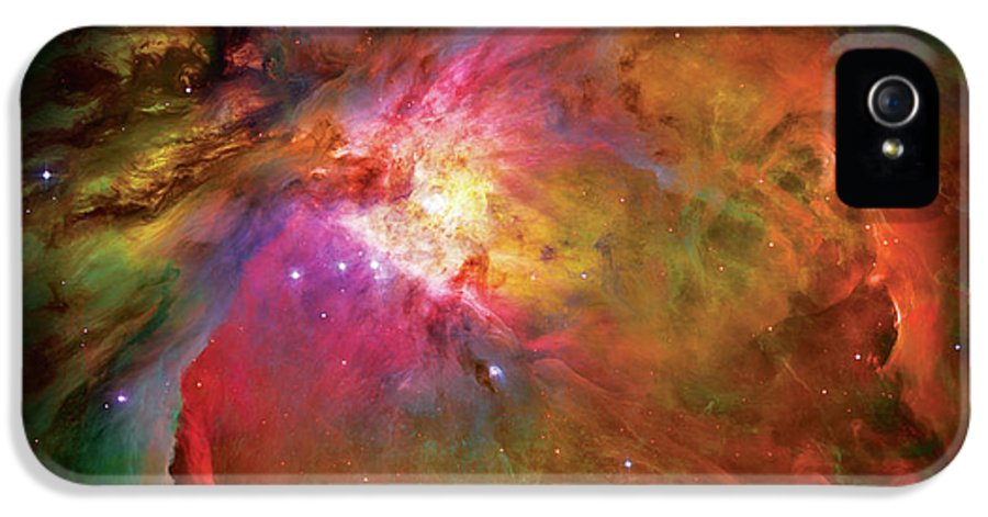 Orion Nebula IPhone 5 / 5s Case featuring the photograph Into The Orion Nebula by The Vault - Jennifer Rondinelli Reilly
