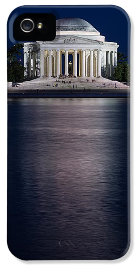 Washington IPhone 5 / 5s Case featuring the photograph Jefferson Memorial Washington D C by Steve Gadomski
