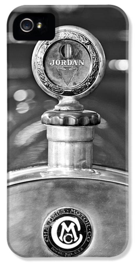 Jordan Motor Car IPhone 5 / 5s Case featuring the photograph Jordan Motor Car Boyce Motometer 2 by Jill Reger