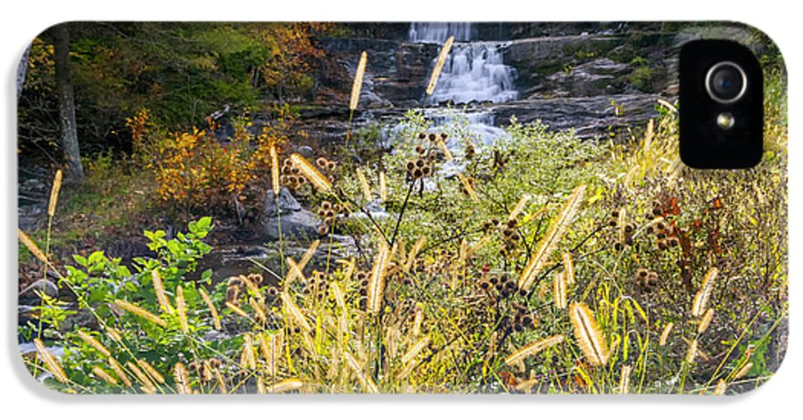 Kent Falls IPhone 5 / 5s Case featuring the photograph Kent Falls by Bill Wakeley