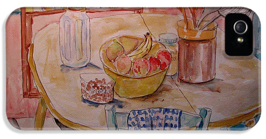 Still Life IPhone 5 / 5s Case featuring the painting Kitchen In Nashville by Lucille Femine