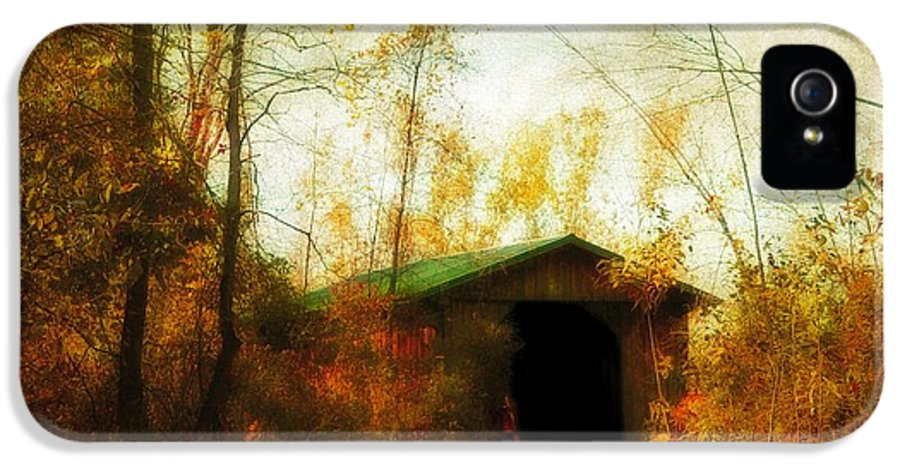 Fall IPhone 5 / 5s Case featuring the photograph Late October by Gothicolors Donna Snyder