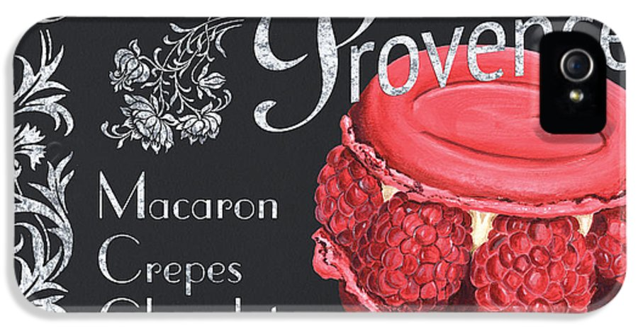 Macaroons IPhone 5 / 5s Case featuring the painting Le Macron De Provence by Debbie DeWitt