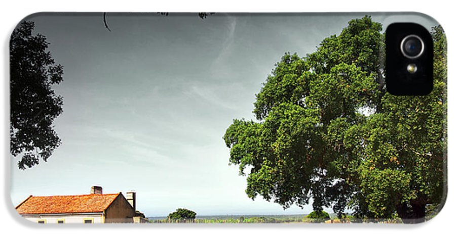 Agriculture IPhone 5 / 5s Case featuring the photograph Little Rural House by Carlos Caetano