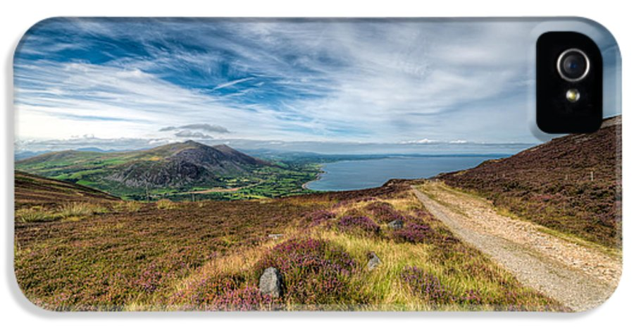 British IPhone 5 / 5s Case featuring the photograph Llyn Peninsula by Adrian Evans