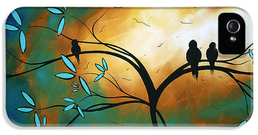 Art IPhone 5 / 5s Case featuring the painting Longing By Madart by Megan Duncanson