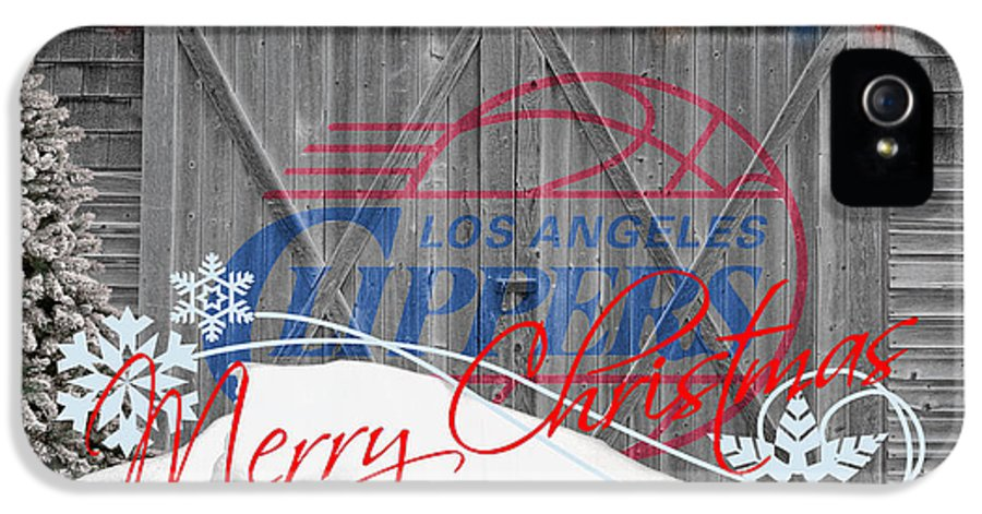 Clippers IPhone 5 / 5s Case featuring the photograph Los Angeles Clippers by Joe Hamilton