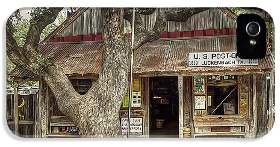 Luckenbach IPhone 5 / 5s Case featuring the photograph Luckenbach 2 by Scott Norris