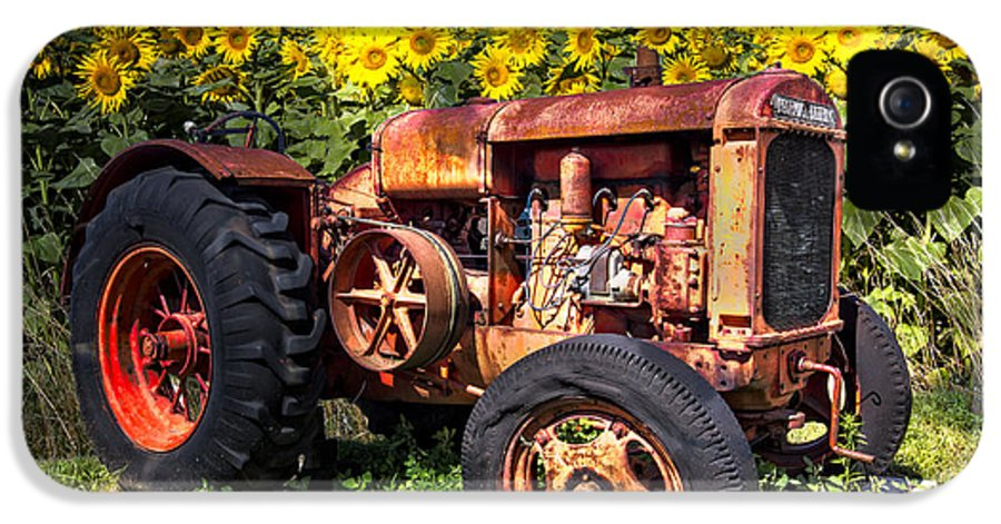 Appalachia IPhone 5 / 5s Case featuring the photograph Mccormick Deering by Debra and Dave Vanderlaan