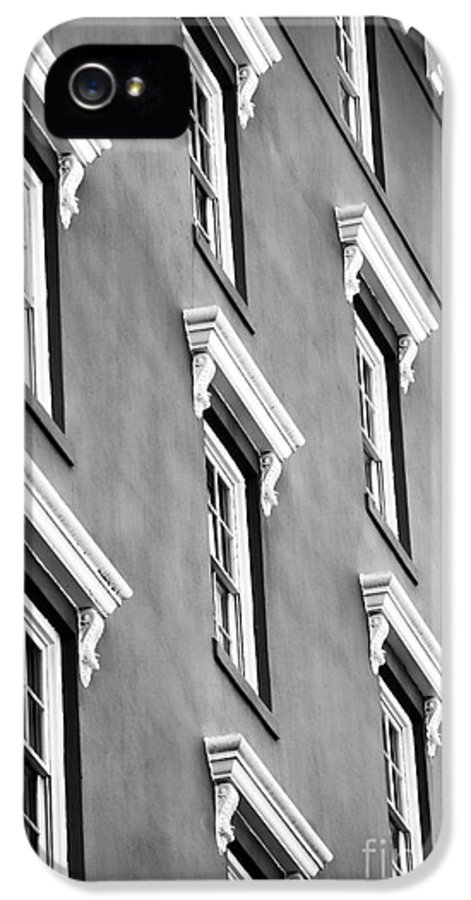 Mill House Windows IPhone 5 / 5s Case featuring the photograph Mill House Windows by John Rizzuto