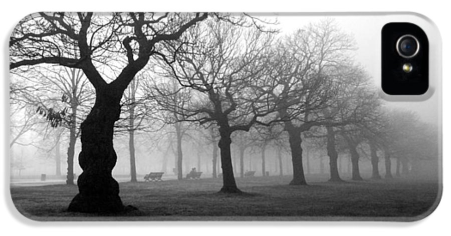 Mist IPhone 5 / 5s Case featuring the photograph Mist In The Park by Mark Rogan