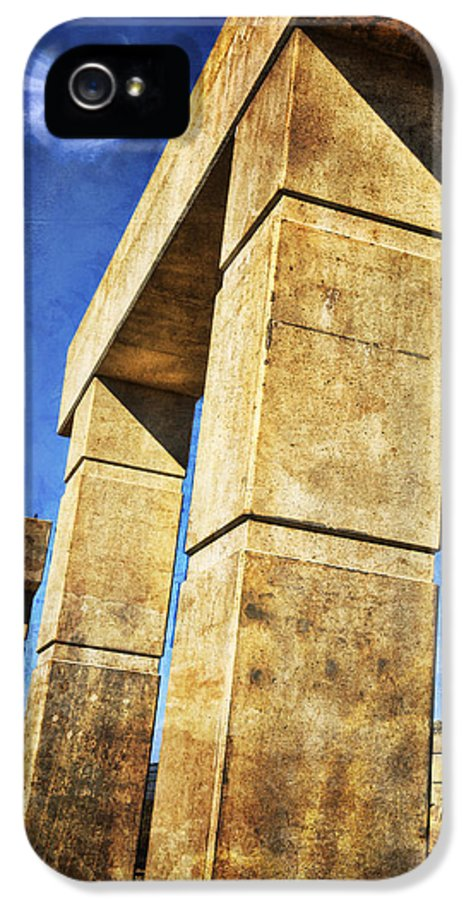 Architectural IPhone 5 / 5s Case featuring the photograph Modern Forum by Joan Carroll