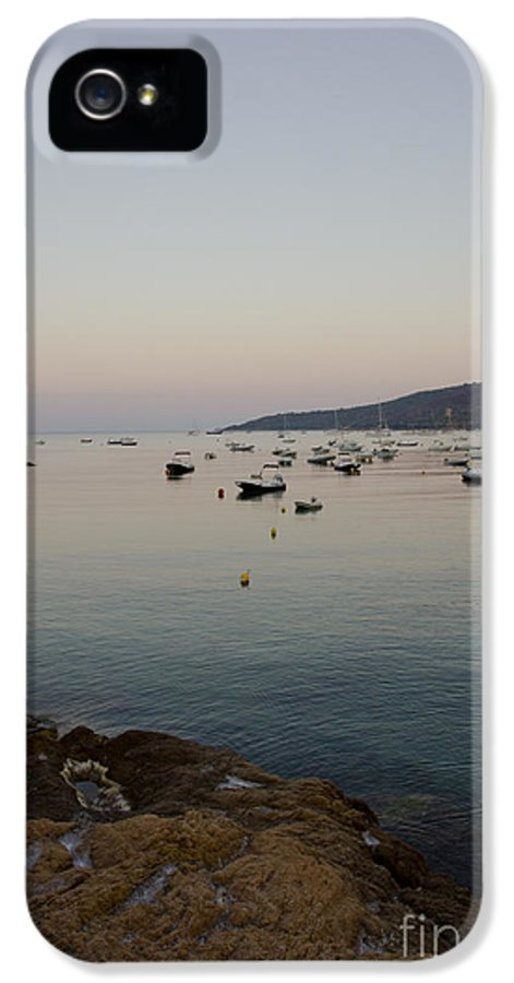Moon IPhone 5 / 5s Case featuring the photograph Morning Moon by Sophie De Roumanie