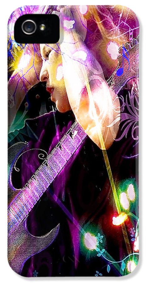Musical Lights IPhone 5 / 5s Case featuring the photograph Musical Lights by Mechala Matthews