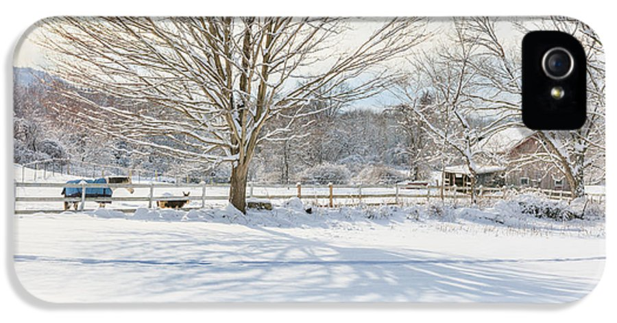 New England Winter IPhone 5 / 5s Case featuring the photograph New England Winter by Bill Wakeley