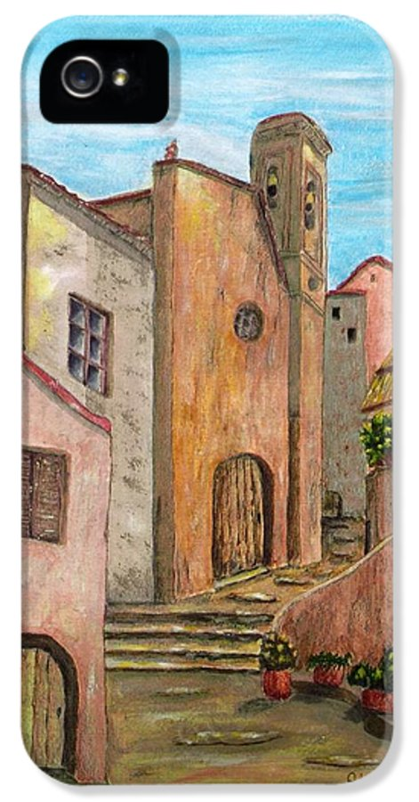 Pamela Allegretto IPhone 5 / 5s Case featuring the painting Nola by Pamela Allegretto