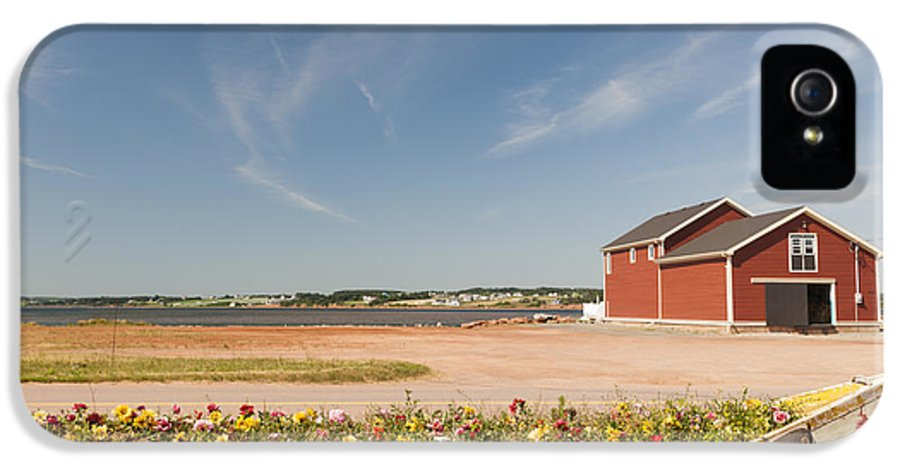 Building IPhone 5 / 5s Case featuring the photograph North Rustico Pei by Elena Elisseeva