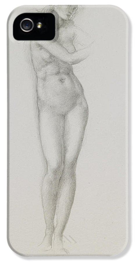 Nude Female Figure Study 110