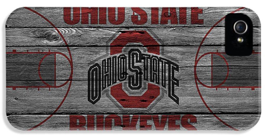 Buckeyes IPhone 5 / 5s Case featuring the photograph Ohio State Buckeyes by Joe Hamilton