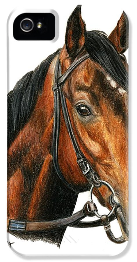 Orb IPhone 5 / 5s Case featuring the painting Orb 2 by Pat DeLong