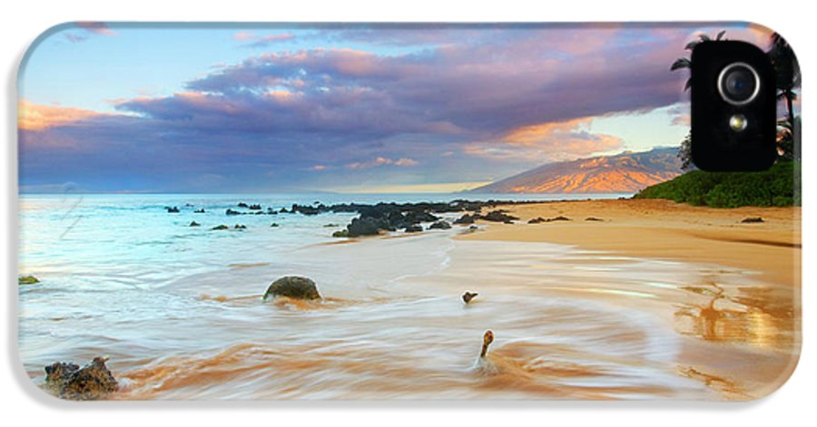 Sunrise IPhone 5 / 5s Case featuring the photograph Paradise Dawn by Mike Dawson