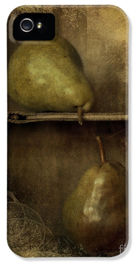 2 IPhone 5 / 5s Case featuring the photograph Pears by Priska Wettstein