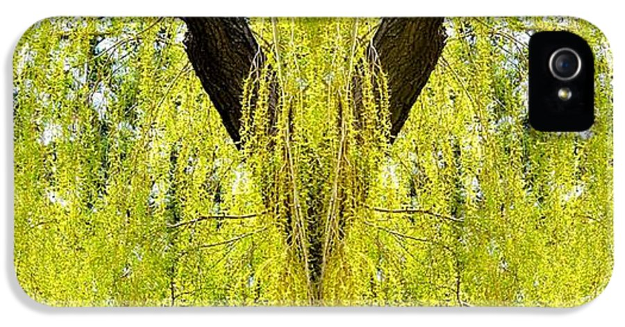 Photo Synthesis 5 IPhone 5 / 5s Case featuring the digital art Photo Synthesis 5 by Will Borden