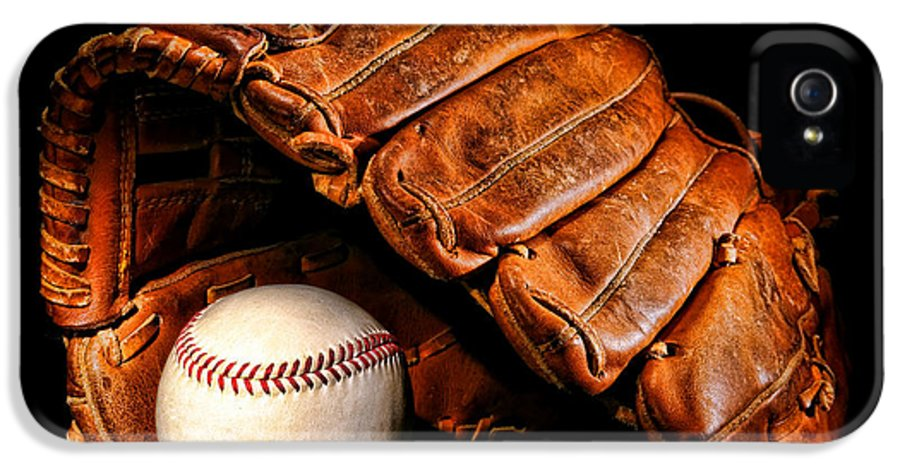 Baseball IPhone 5 / 5s Case featuring the photograph Play Ball by Olivier Le Queinec