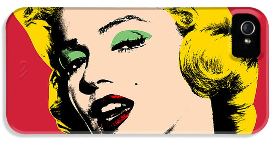 Pop Art IPhone 5 / 5s Case featuring the painting Pop Art by Mark Ashkenazi