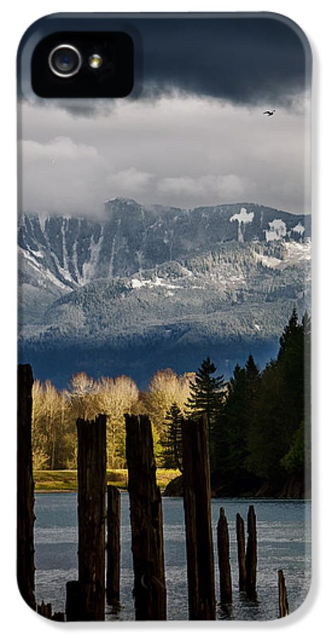 Potential IPhone 5 / 5s Case featuring the photograph Potential - Landscape Photography by Jordan Blackstone