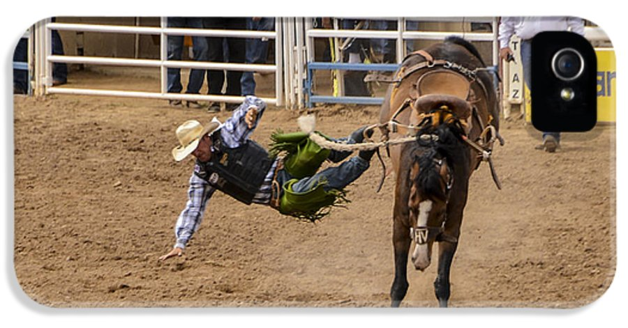 Rodeo IPhone 5 / 5s Case featuring the photograph Prescott Rodeo 2014 by Jon Berghoff