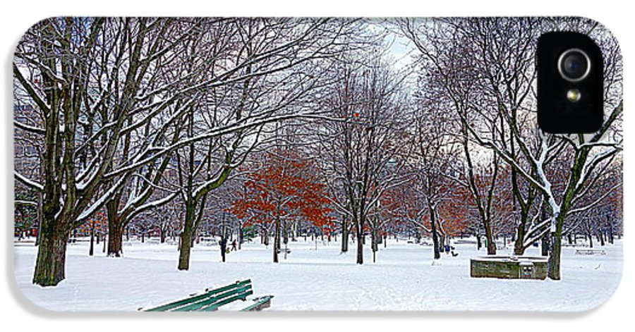 Queen's Park IPhone 5 / 5s Case featuring the photograph Queen's Park by Valentino Visentini