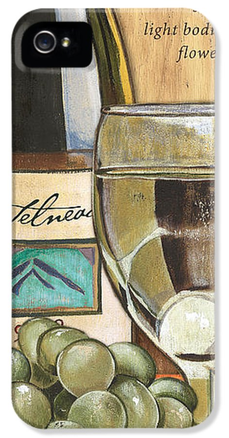Riesling IPhone 5 / 5s Case featuring the painting Riesling by Debbie DeWitt