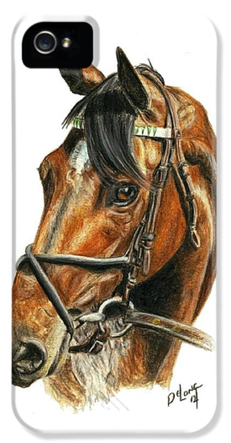 Royal Delta IPhone 5 / 5s Case featuring the painting Royal Delta by Pat DeLong