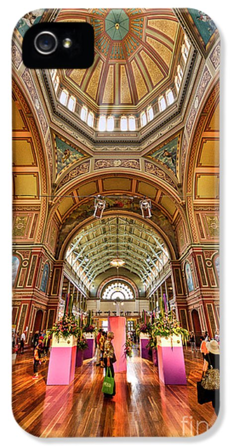 Royal IPhone 5 / 5s Case featuring the photograph Royal Exhibition Building II by Ray Warren