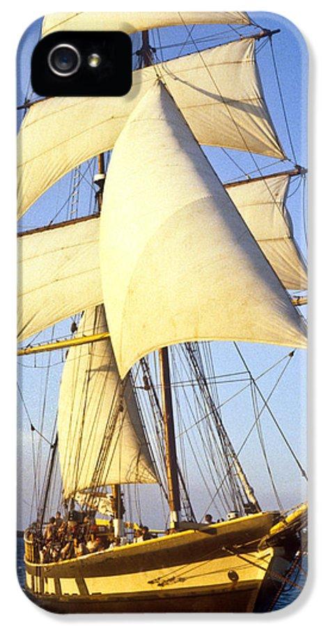 Carribean IPhone 5 / 5s Case featuring the photograph Sailing Ship Carribean by Douglas Barnett