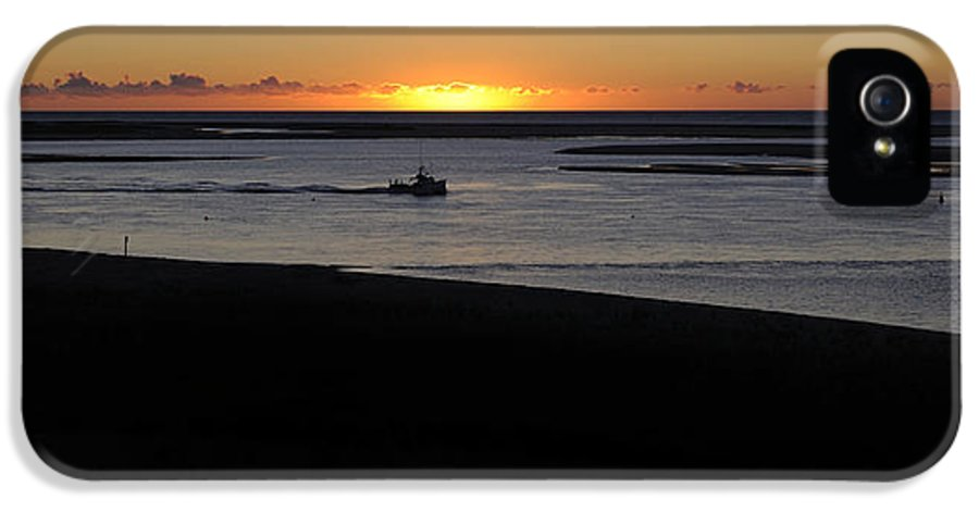 Cape Cod IPhone 5 / 5s Case featuring the photograph Salty Sunrise by Luke Moore