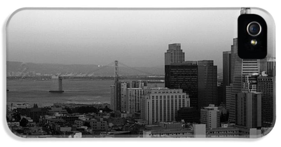 San Francisco IPhone 5 / 5s Case featuring the photograph San Francisco by Aidan Moran