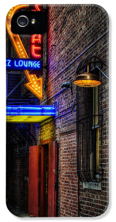 Scat Lounge IPhone 5 / 5s Case featuring the photograph Scat Lounge Living Color by Joan Carroll