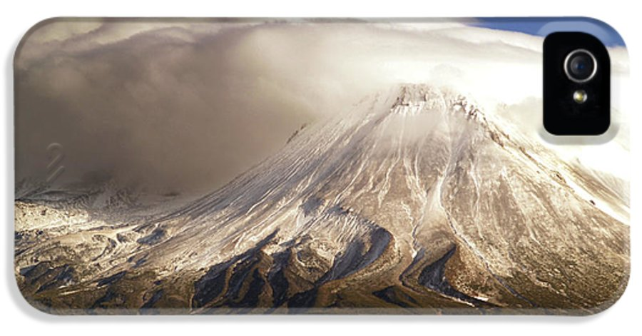 Mt Shasta IPhone 5 / 5s Case featuring the photograph Shasta Storm by Bill Gallagher