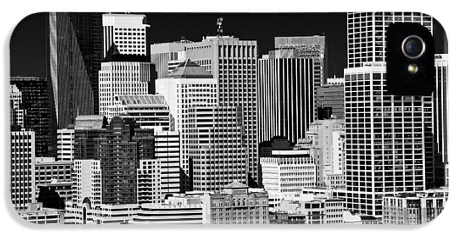 Transport IPhone 5 / 5s Case featuring the photograph Skyline San Francisco by Ralf Kaiser