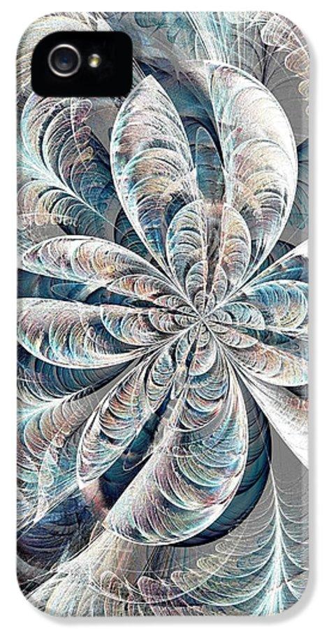 Computer IPhone 5 / 5s Case featuring the digital art Soft Palette by Anastasiya Malakhova