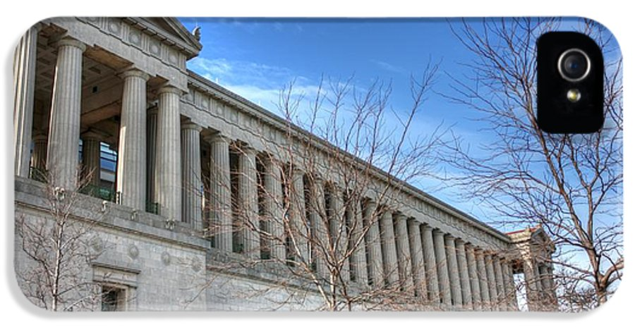 Columns IPhone 5 / 5s Case featuring the photograph Soldier Field - 2 by David Bearden