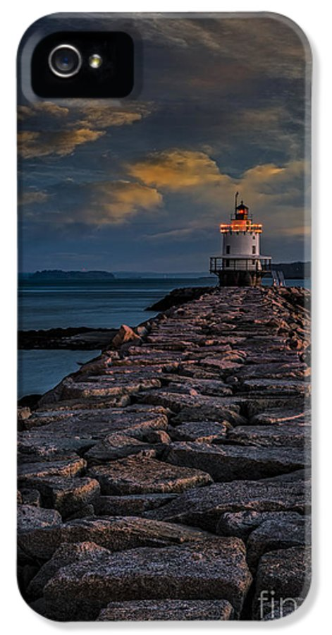Spring Point Ledge Light IPhone 5 / 5s Case featuring the photograph Spring Point Ledge Lighthouse by Susan Candelario